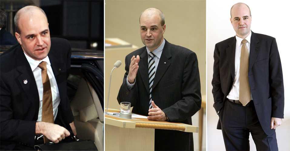 2006 Fredrik Reinfeldt, född 4 augusti 1965, blev partiledare för Moderaterna 2003 och blev Sveriges statsminister 2006.