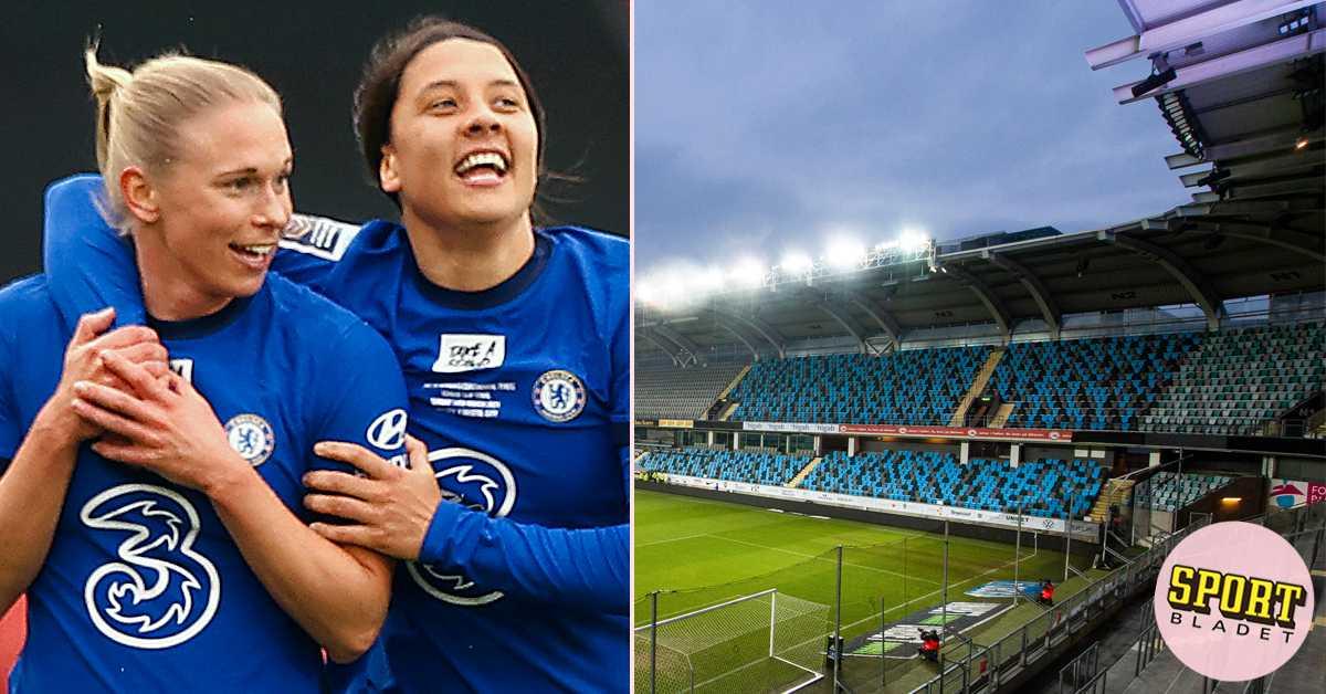 Chelsea räknar med fördel på Gamla Ullevi