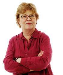 Aftonbladets politiska kommentator Lena Mellin.