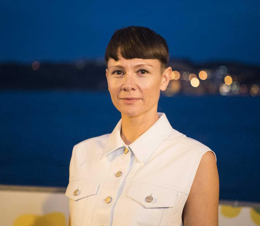 Melodifestivalens tävlingsproducent Karin Gunnarsson.