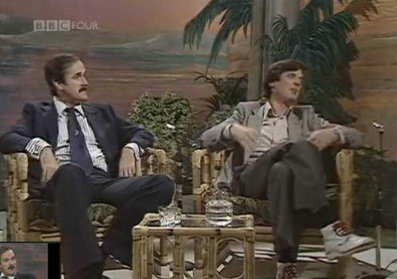 John Cleese och Michael Palin försvarade filmen i flera debatter då det begav sig ...