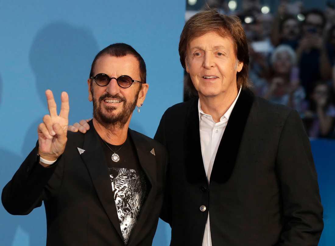 Ringo Starr och Paul McCartney.