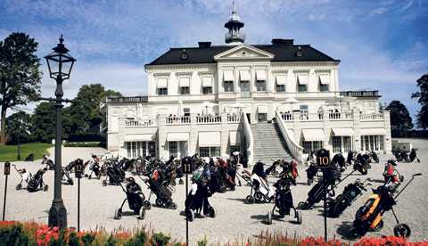 Bro Hof Slott Golf Club.