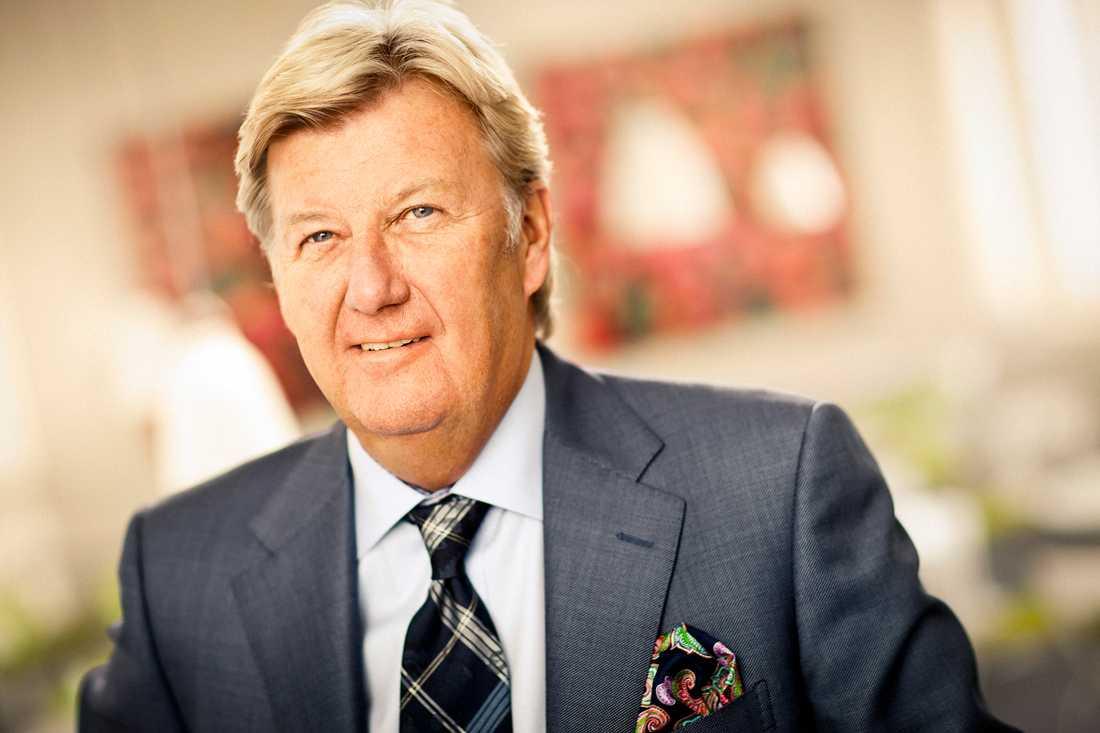 Stanley Brodén, koncernchef Aleris och vd Aleris Holding AB.