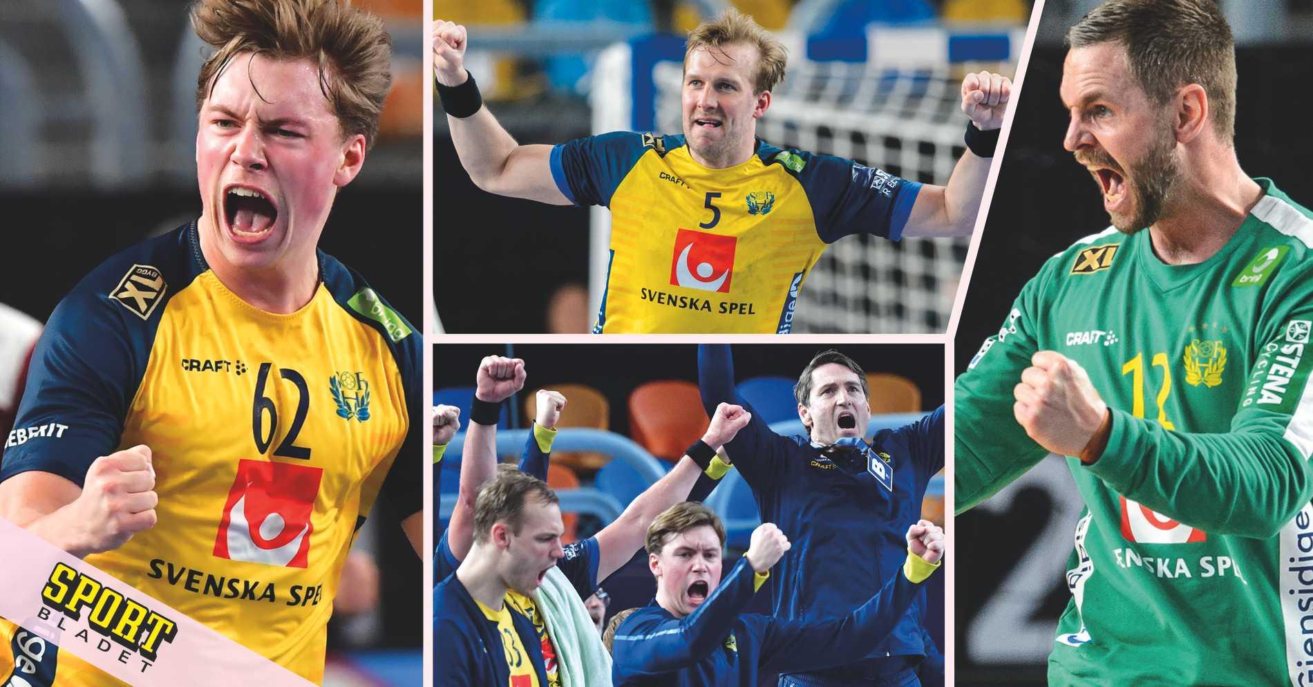 Sverige klart för semifinal i handbolls-VM