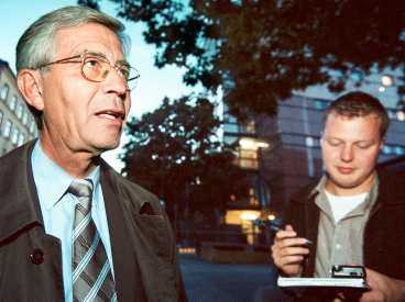 Åter i Rampljuset Advokat Peter Althin har en över 20 år lång karriär bakom sig som brottmålsadvokat. Här frågas han ut av Aftonbladets reporter Jens Kärrman.