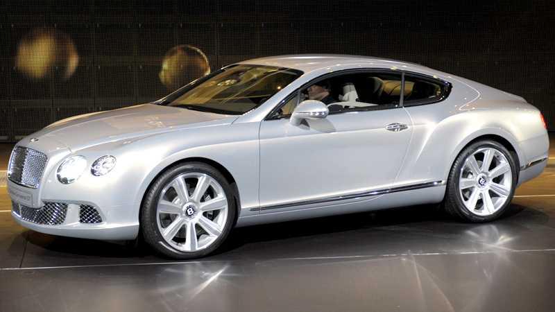 Bentleys storsäljare Continental GT nu i ny version. Foto: Scanpix
