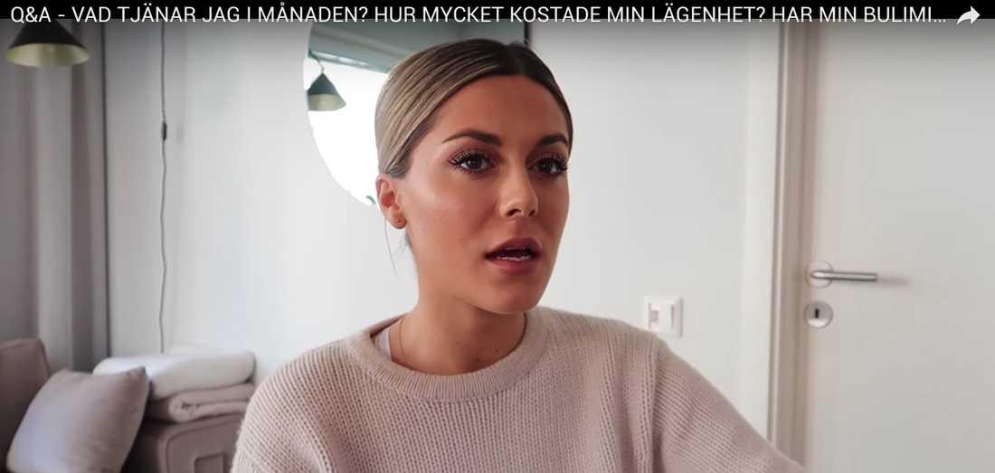 Bianca Ingrosso svarar på sina följares frågor i en video på Youtube.
