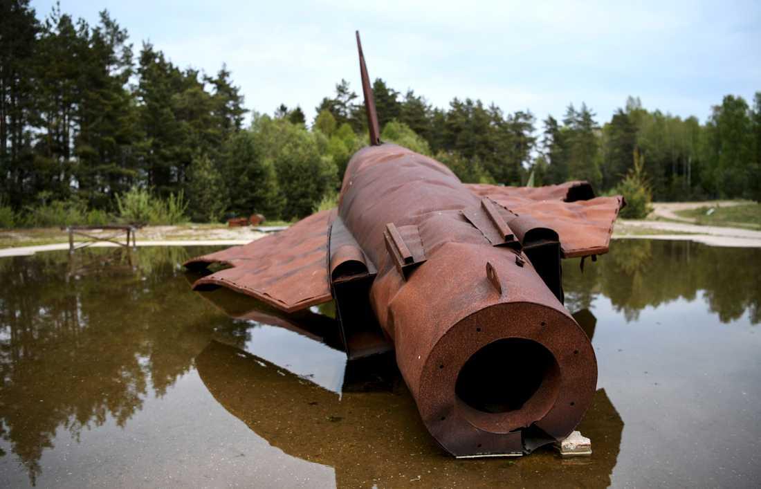 Brandskum med PFAS användes bland annat i Kallinge där försvaret hade sina brandövningar under flera år. Kemikalien gick ner i grundvattnet och de boende i Kallinge fick i sig vatten med PFAS-halter långt över gränsvärdet. Arkivbild.