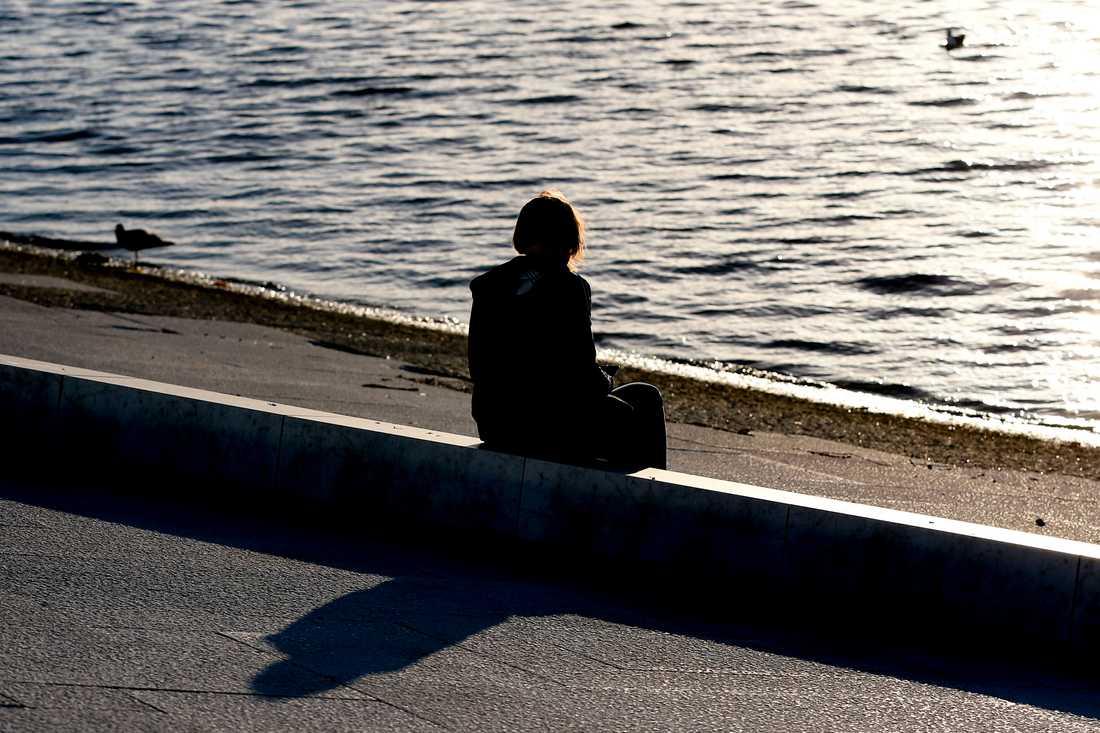 Karin, 30, erbjuder våldsutsatta kvinnor sovplats mitt i Coronakrisen.