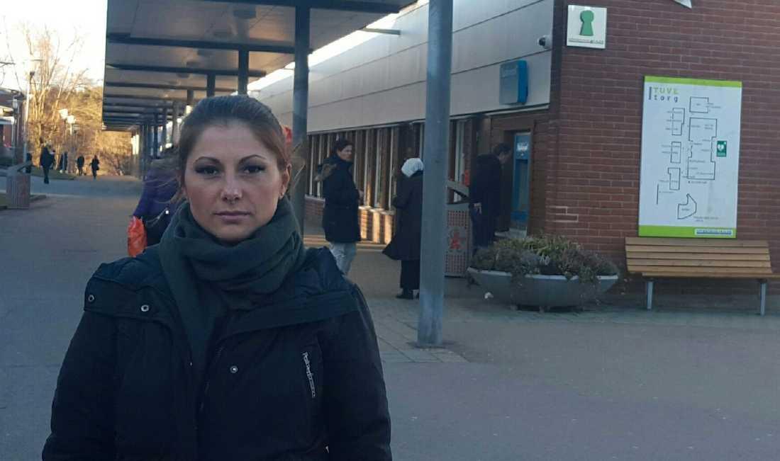 """Sükran Dogan, 34, startade """"Tillsammans i Tuve""""."""