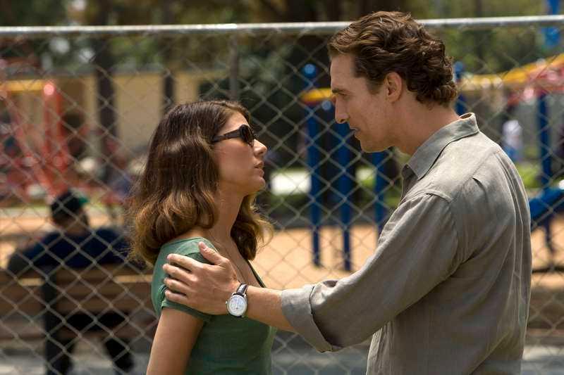 "Marisa Tomei och Matthew McConaughey i ""The Lincoln Lawyer"" efter Michael Connellys bok."