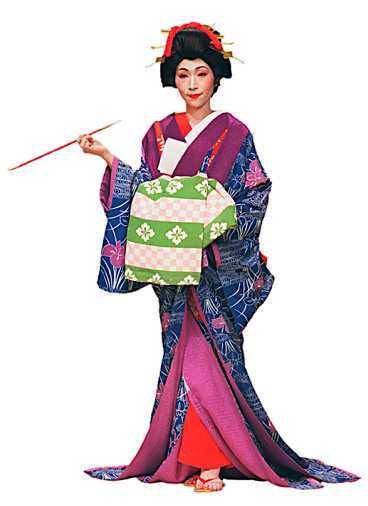 Testa livet i kimono.