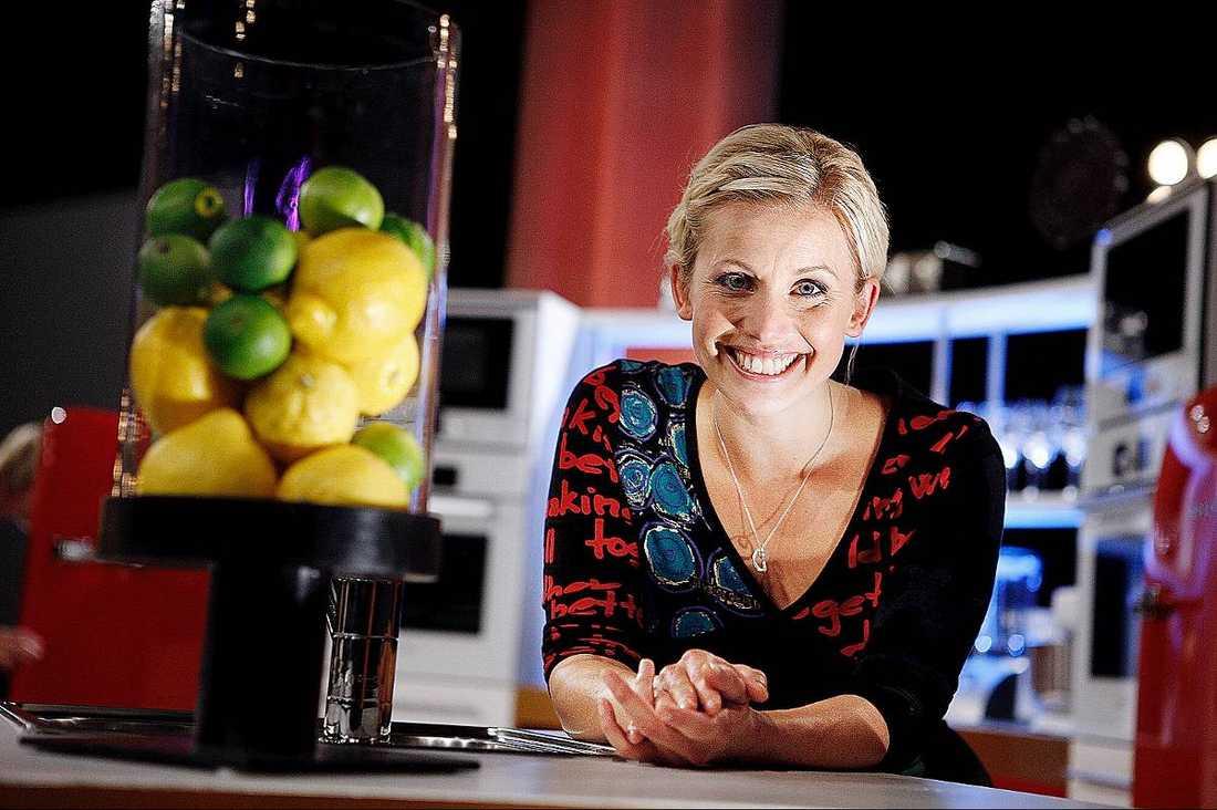Tv-kocken Tina Nordström kanske behövs om krypkosten ska bli populär.