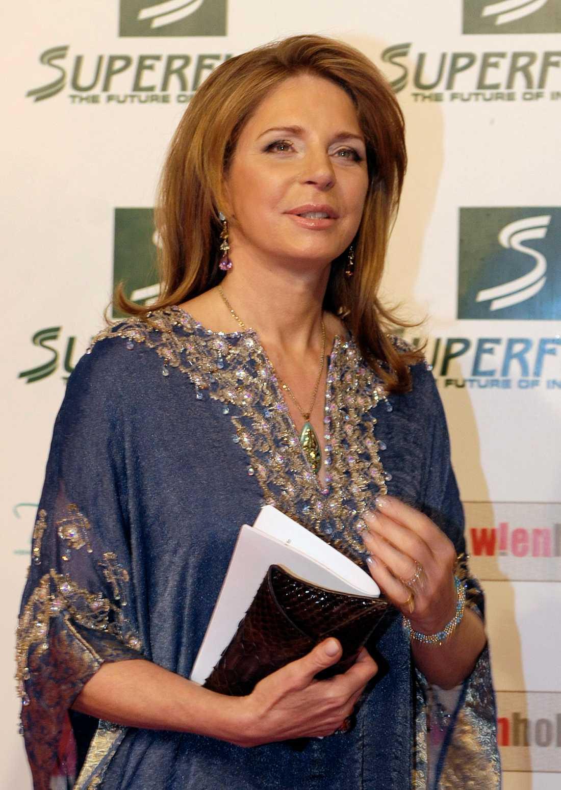 Drottning Noor av Jordanien har två stiftelser på Jersey. Arkivbild.