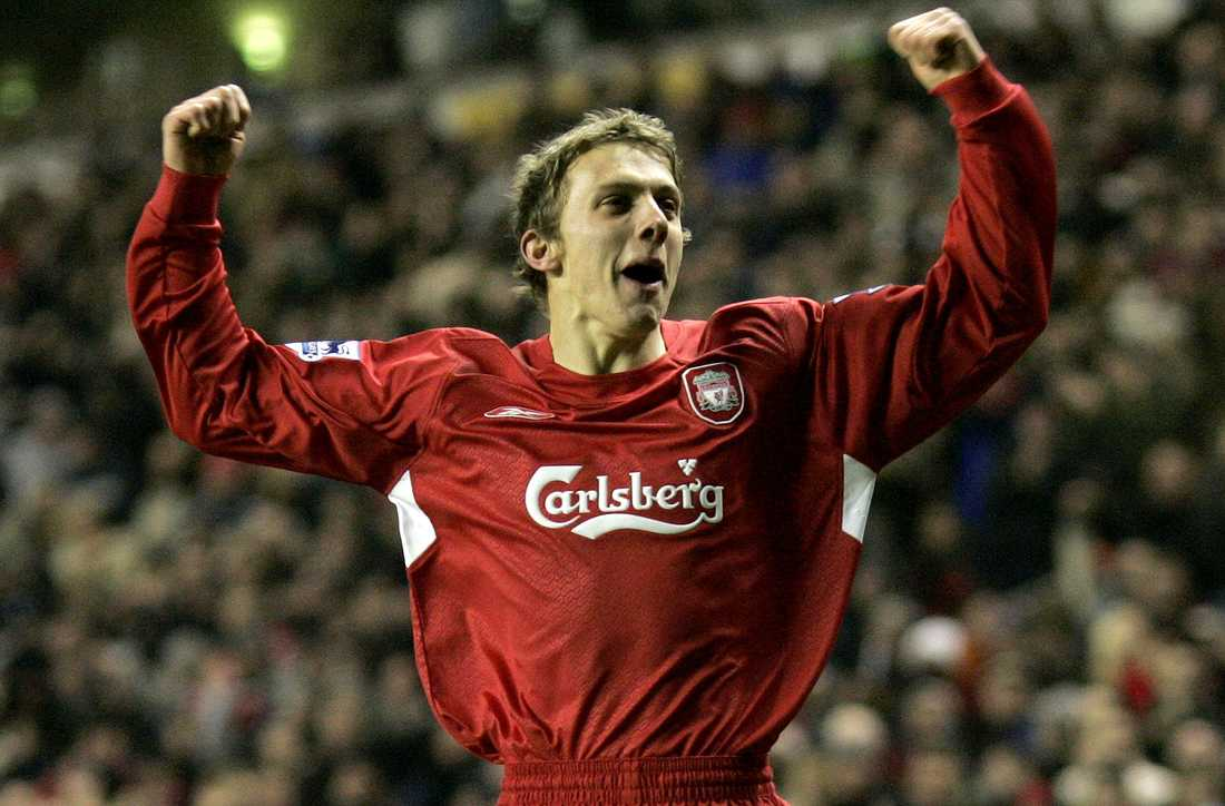 Stephen Warnock i Liverpool 2006