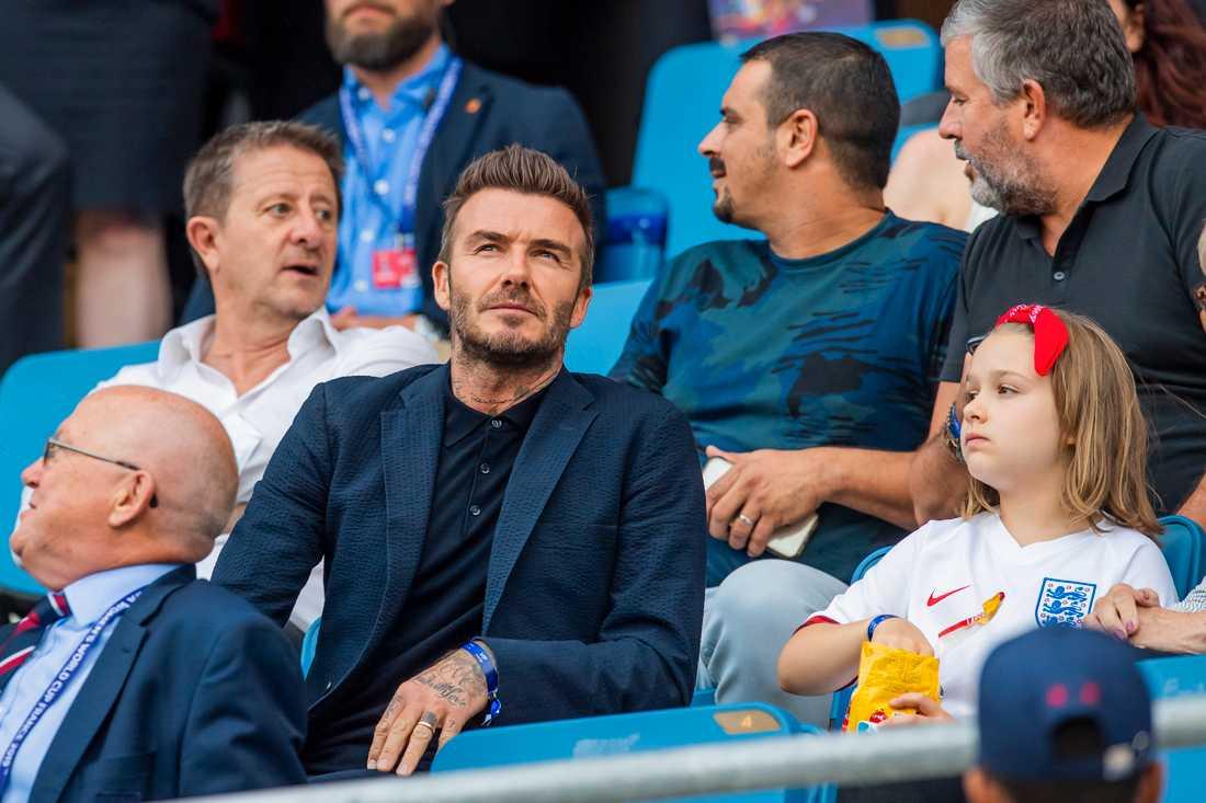 David Beckhams liv blir serie på Netflix.