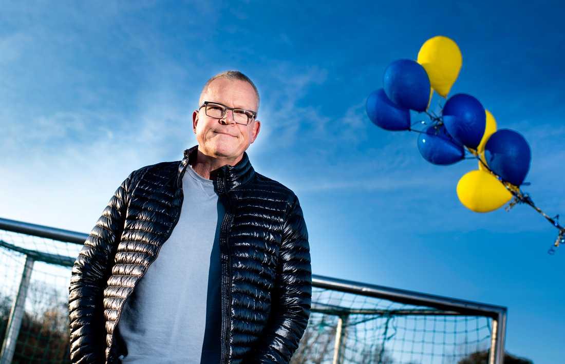 """""""Min grundinställning i mitt ledarskap är att skapa en miljö där folk är välkomna"""", säger Janne Andersson."""