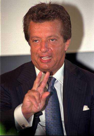 Filmmagnaten Vittorio Cecchi Gori har fått skulden för konkursen.