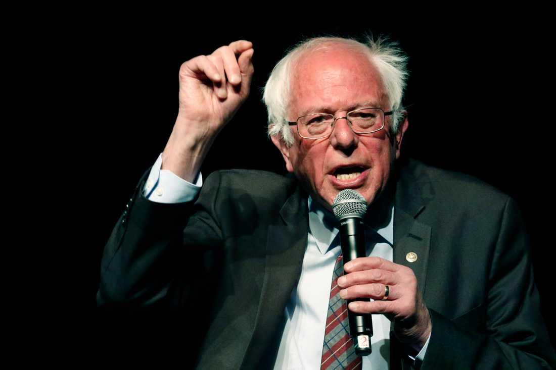Bernie Sanders kan tänka sig att ställa upp i presidentvalet 2020. Arkivbild.