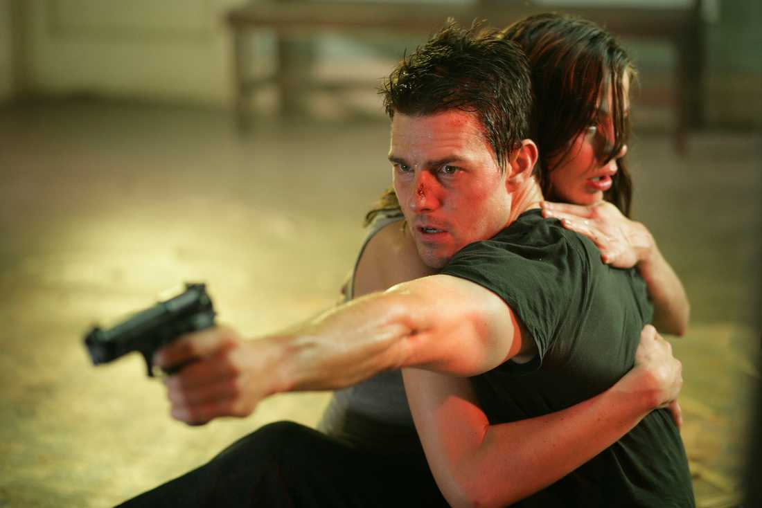 """Med Michelle Monaghan i """"Mission: Impossible III"""", 2006."""