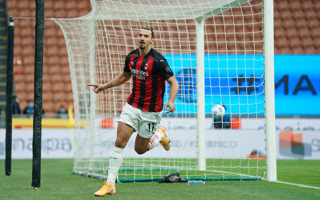 Zlatan Ibrahimovic firar det första av sina två mål för Milan i derbyt mot Inter i lördags. Nu är han på jakt efter Henrik Larssons rekord som främste svenske målskytt i Europacuperna.