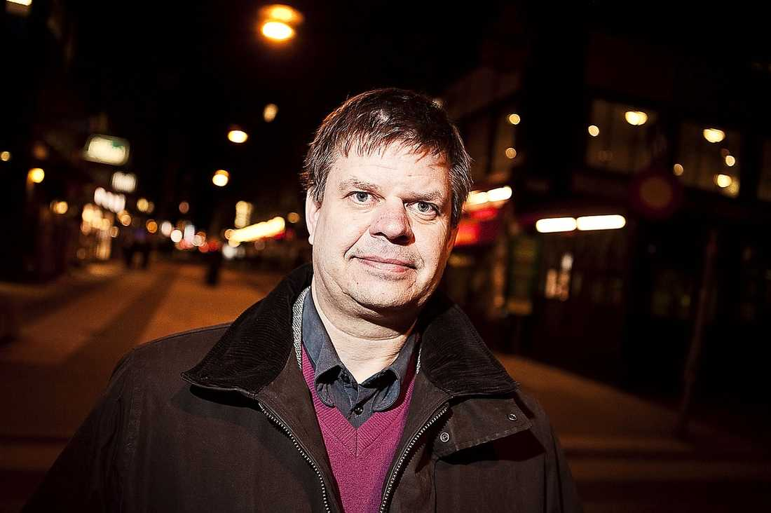 Sven-Erik Lindestam, 46, är ett klockrent genomsnittsombud för S.