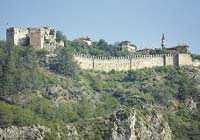 Borgen på udden är en symbol för Alanya. Och utsikten därifrån är svindlande.
