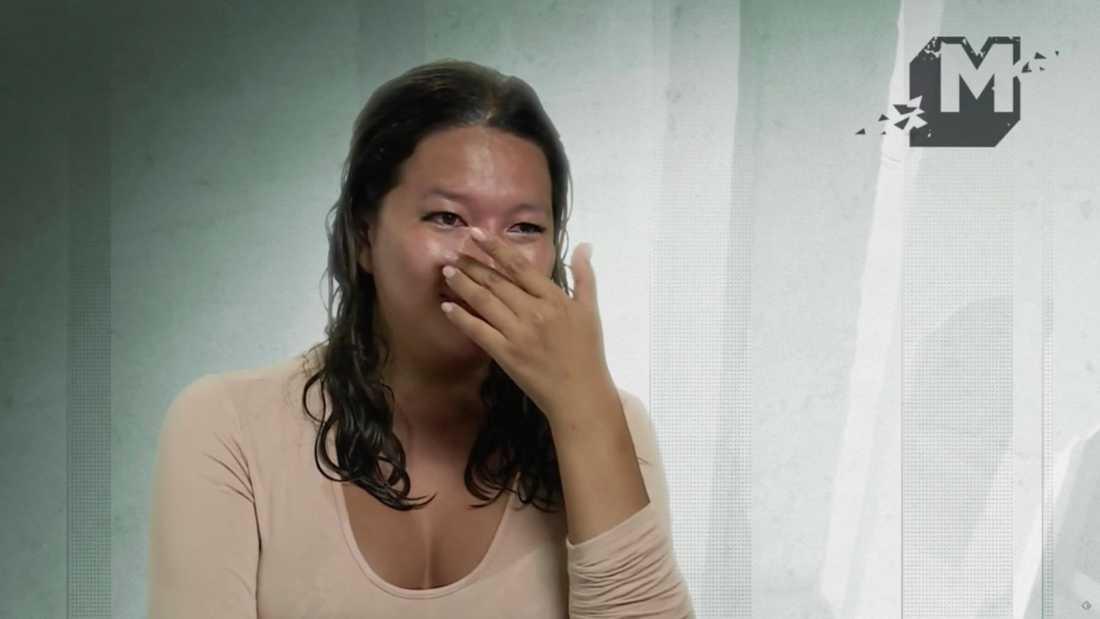 Efter förlusten rämnade murarna och Tova-Sophia brast i tårar
