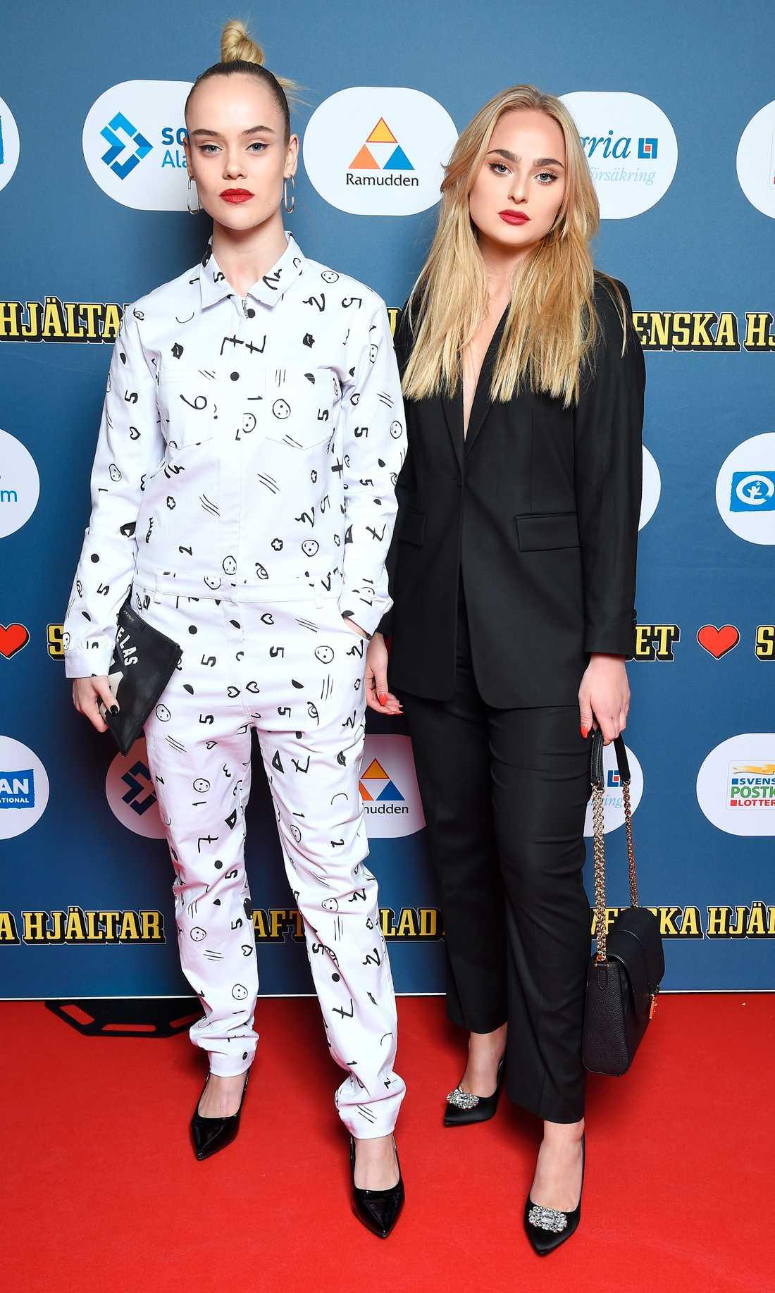 Amanda Winberg och Alice Stenlöf