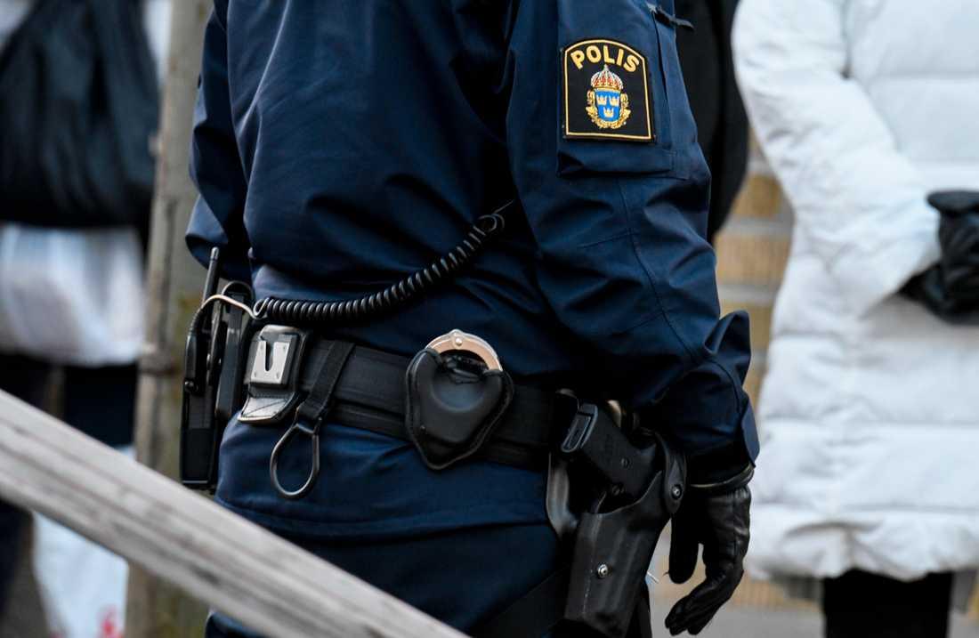 En man som tiggde i Uppsala hade en stor summa pengar på sig och misstänks nu för penningtvättsbrott. Arkivbild.