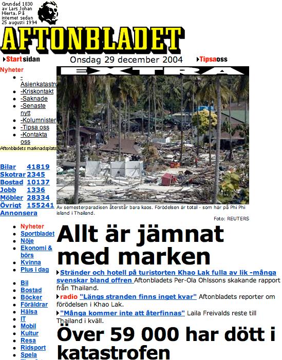 Aftonbladet 2004.