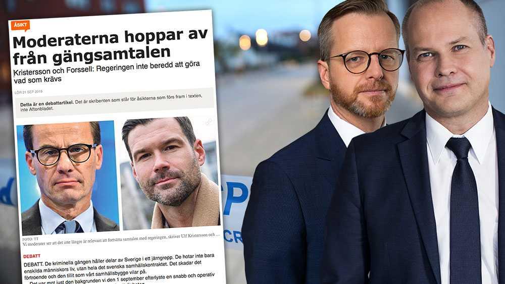 Partierna har gjort sina val och man kan inte bestämma att andra ska dansa. Nu ligger vårt fokus på att fortsätta den historiska utbyggnaden av svensk polis och genomförandet av åtgärdspaketet mot gängvåldet, skriver  Morgan Johansson och Mikael Damberg (S).