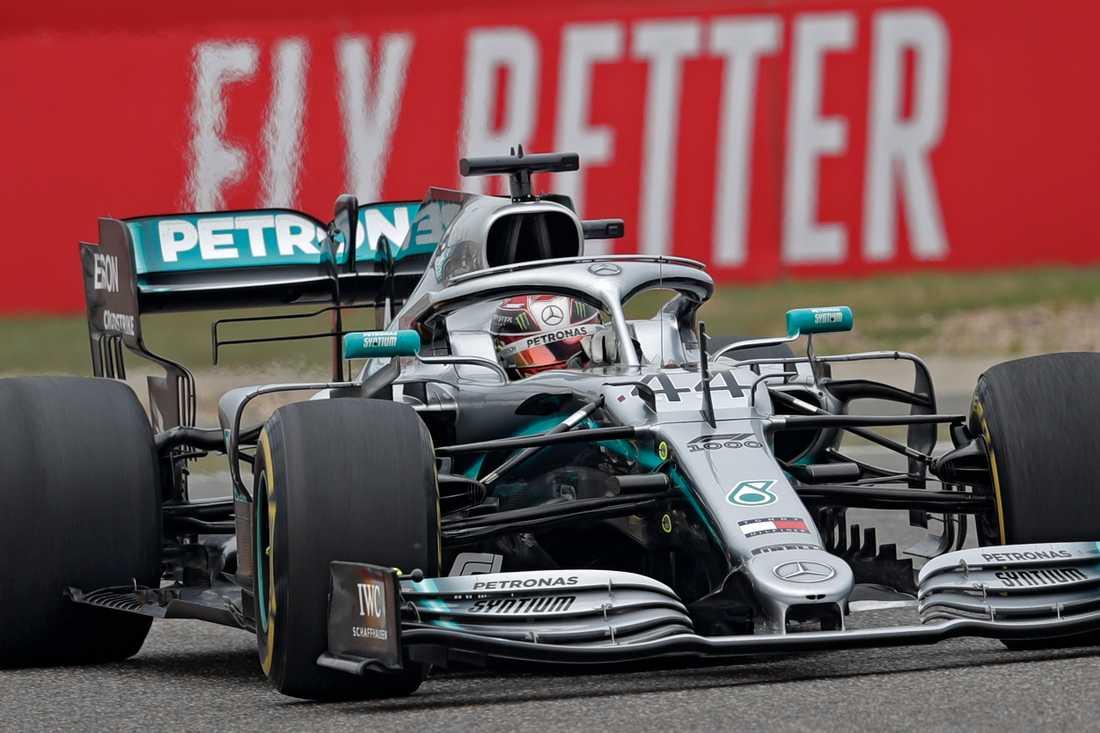 Lewis Hamilton och Mercedes vann Kinas GP