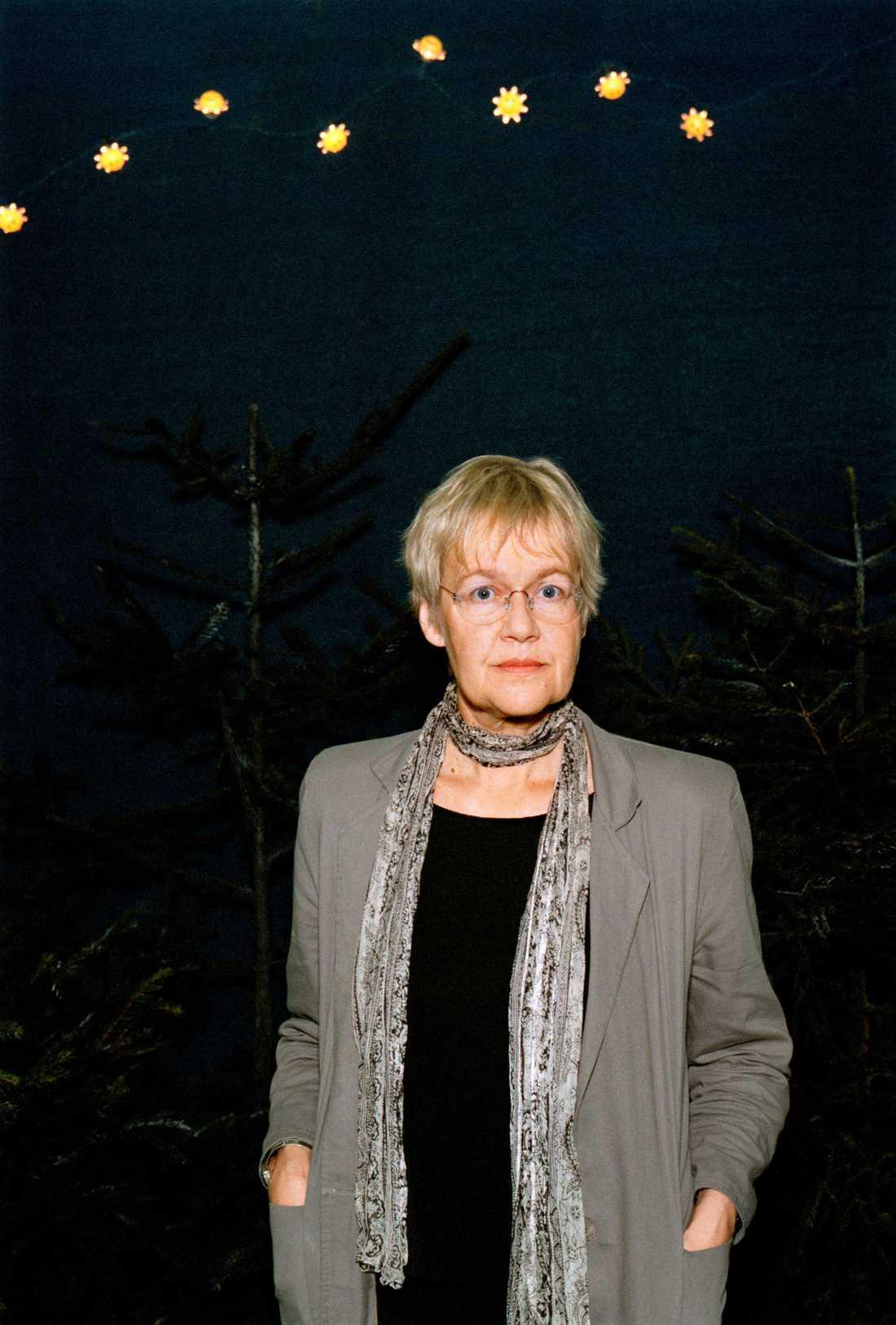 Tua Forsström, stol nummer 18.