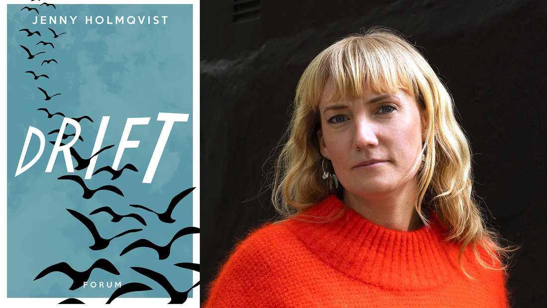 """Jenny Holmqvists debutroman """"Drift"""" är prudentligt välskriven och mångordig, skriver Pia Bergström."""