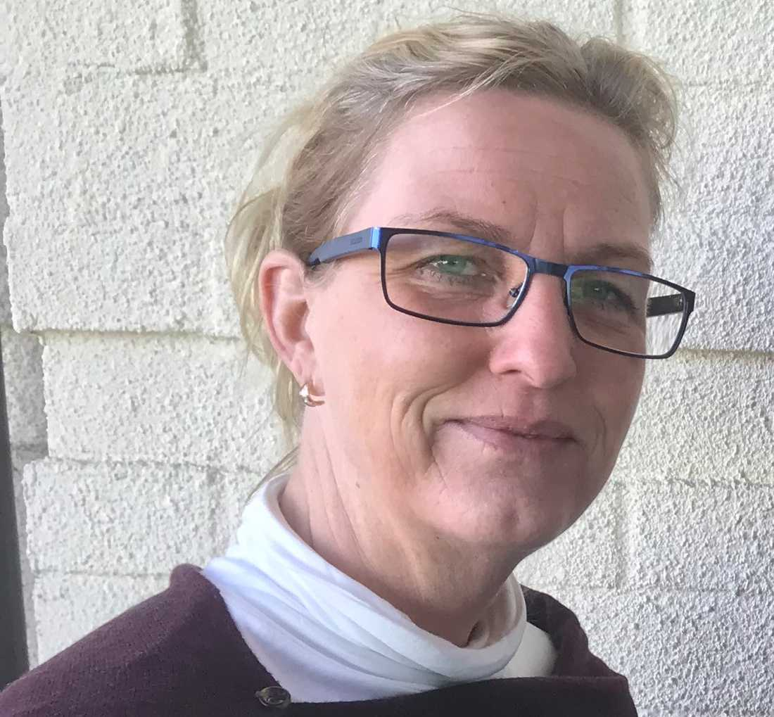 Annika Holst, ordförande in fritid, service och teknik hos Kommunal i Malmö.