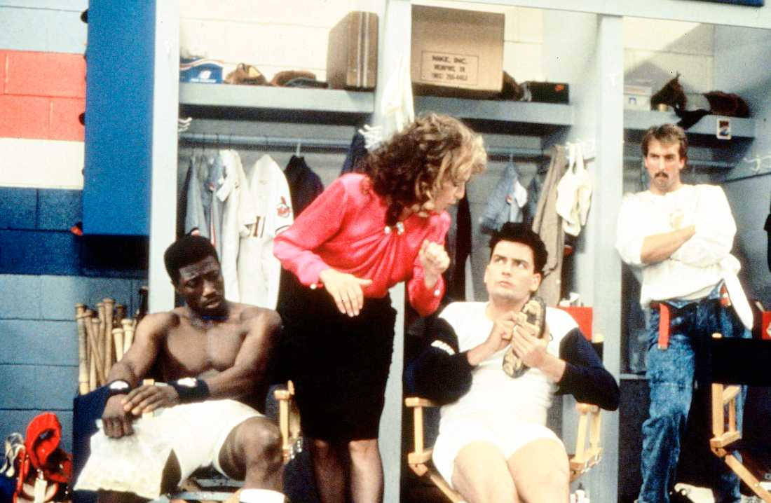 """VÄRSTA GÄNGET"" (""MAJOR LEAGUE"") MED WESLEY SNIPES, MARGARET WHITTON OCH CHARLIE SHEEN 1989"