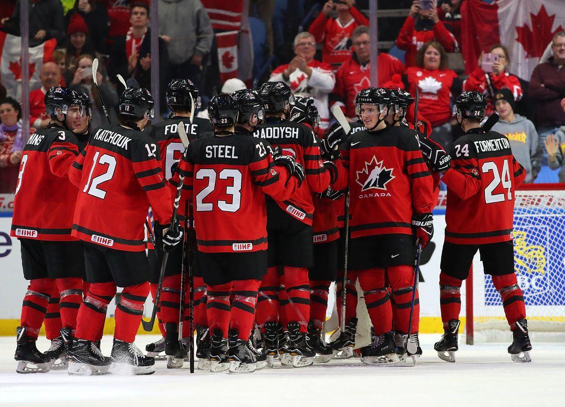 Kanadische Eishockey Mannschaften