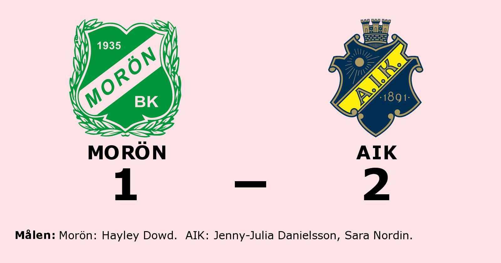 Seger för AIK i tidiga seriefinalen mot Morön