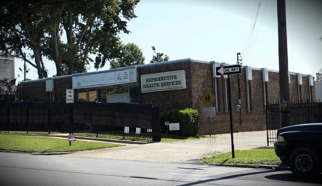Kliniken i Montgomery är en av endast tre som finns kvar i Alabama.