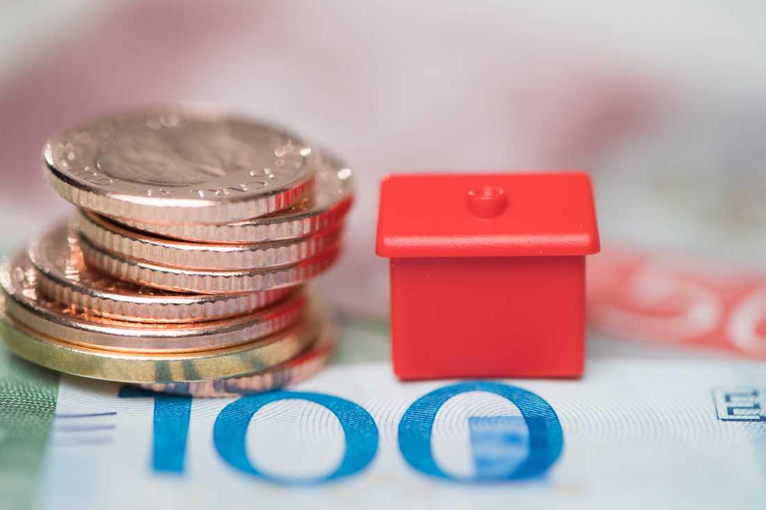 Färre tror på stigande bopriser det kommande året. Arkivbild.