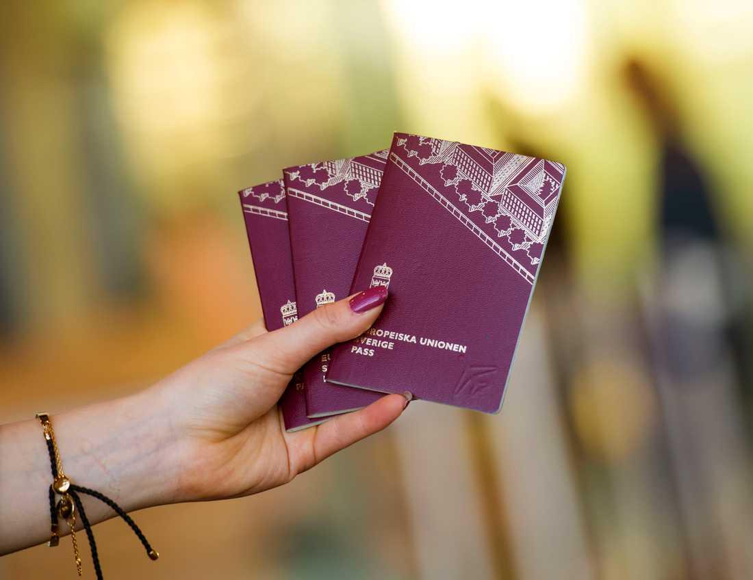 Expressen har rapporterat att den före detta lokalpolitikern erbjudit sig att mot betalning hjälpa personer på flykt att resa till Sverige från Grekland med hjälp av lånade pass. Arkivbild.