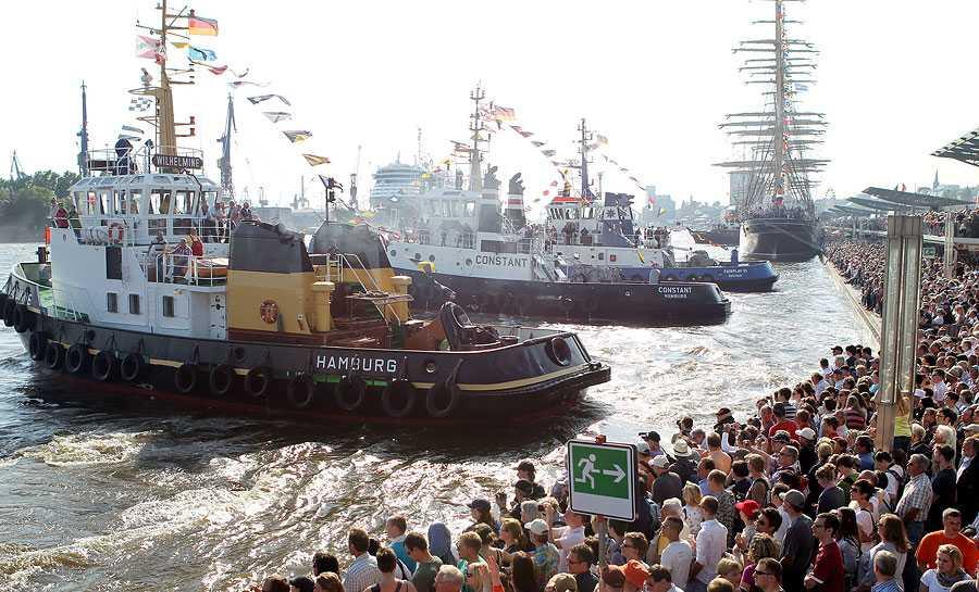 1,5 miljoner besökare från hela världen kom till hamnfestivalen.