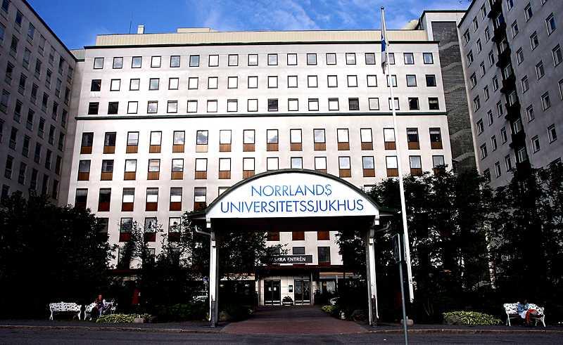 Norrlands universitetssjukhus i Umeå.