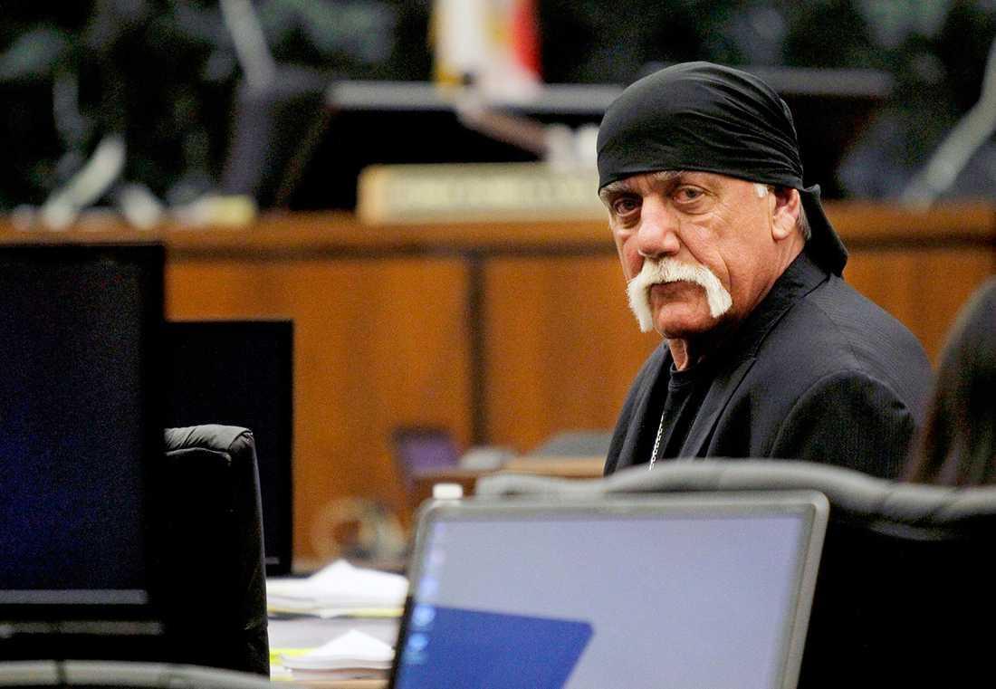 Hulk Hogan i rätten.