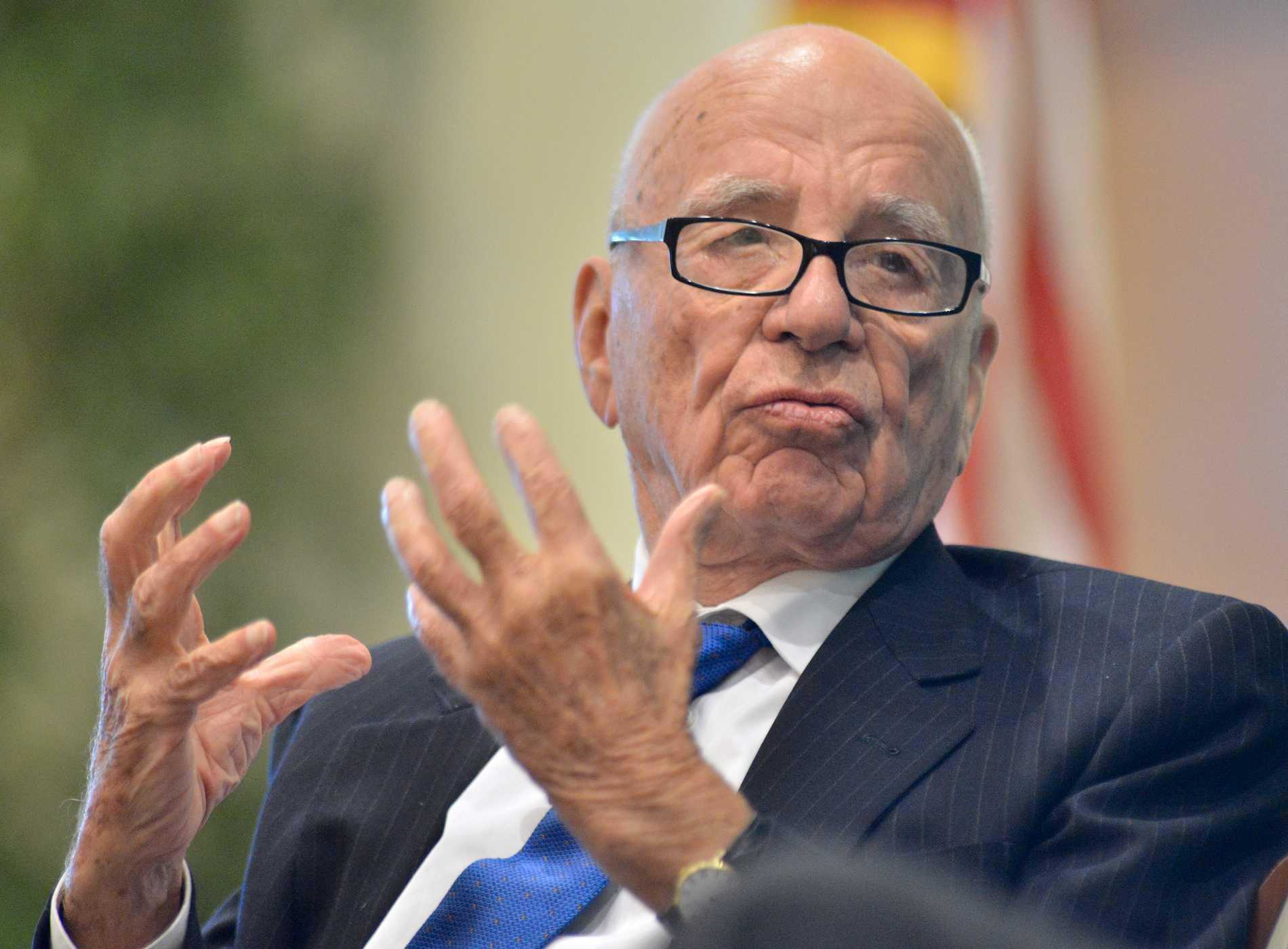 Mediemogulen Rupert Murdoch.