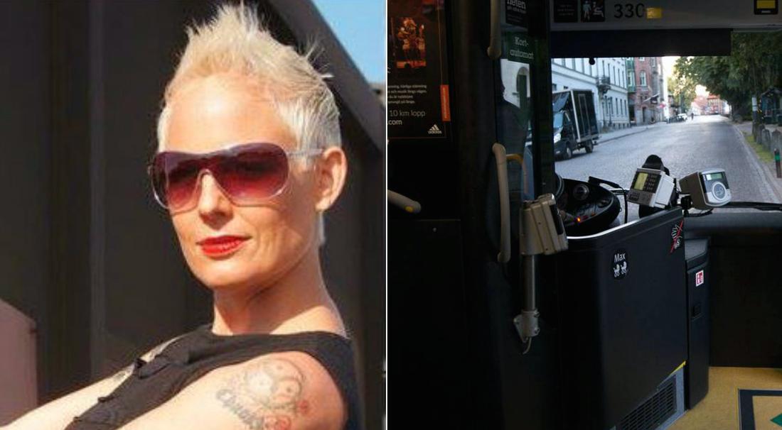 Eva såg när busschauffören grep in och stoppade misshandeln.