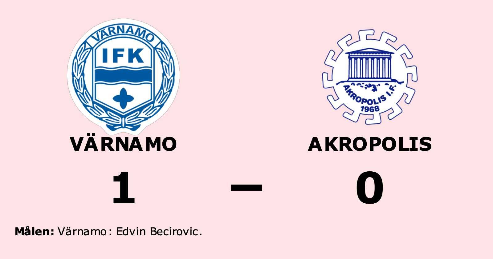 Akropolis utan seger för sjunde matchen i rad