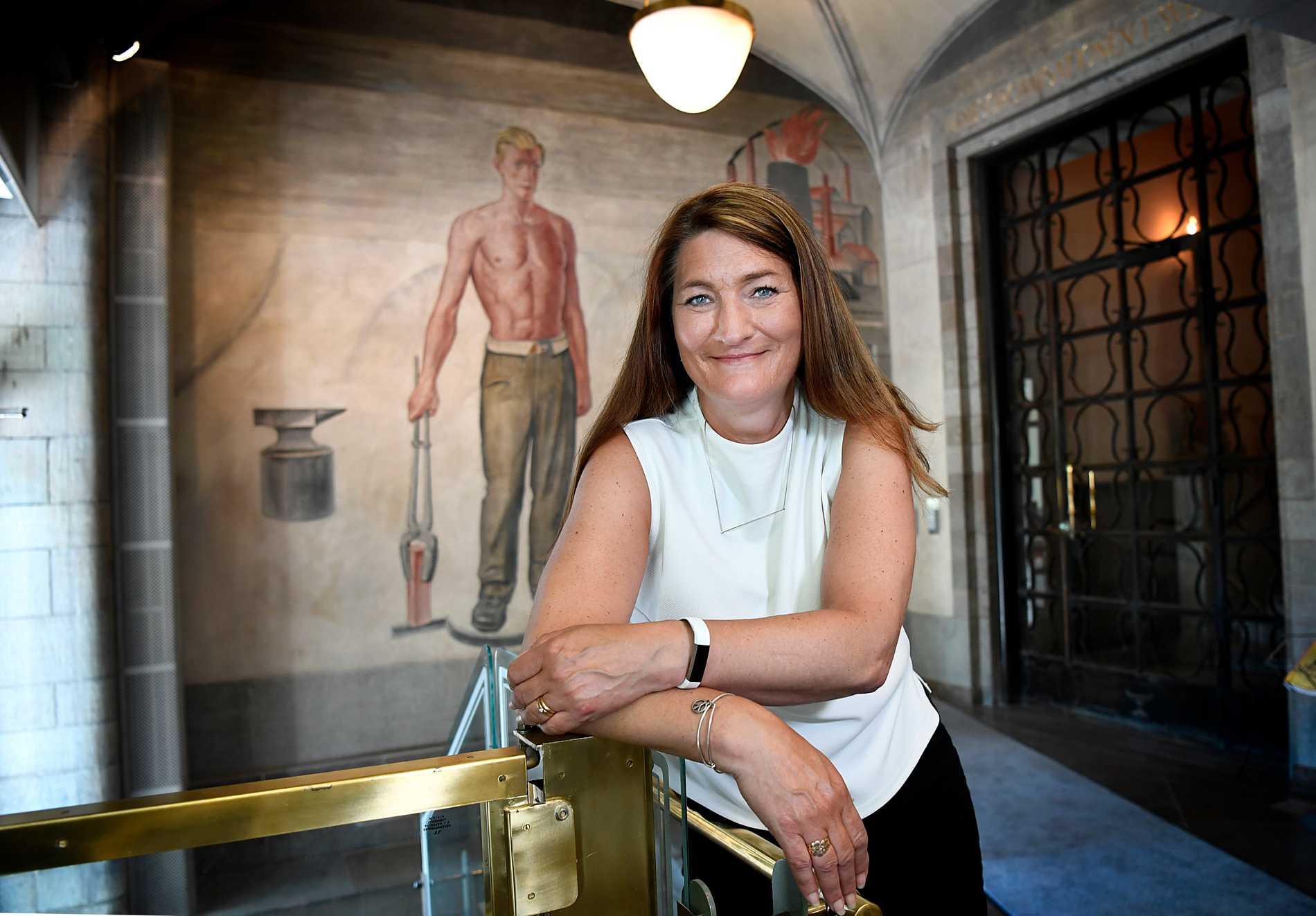 Susanna Gideonsson är, skulle man kunna säga, Sveriges mäktigaste kvinna.